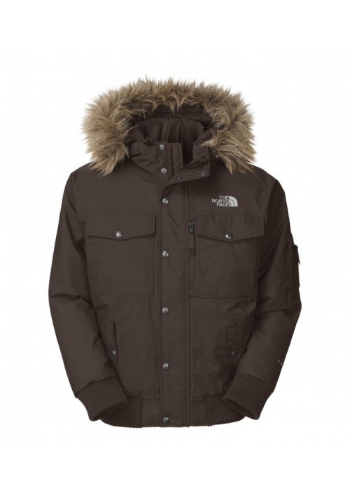Down Jacket The North Face Gotham Bittersweet Brown AAQF74A Men