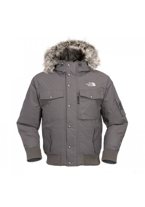 Down Jacket The North Face Gotham gris Graphite AAQF-0M8