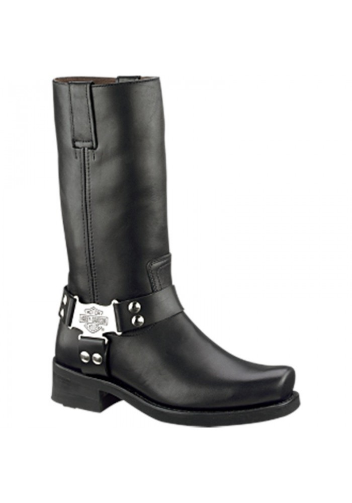 Harley Davidson Leather Biker Boots Men