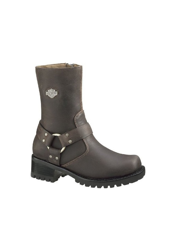 authentic quality classic shoes best Harley Davidson Boots / Ashby Brown D84188 Women