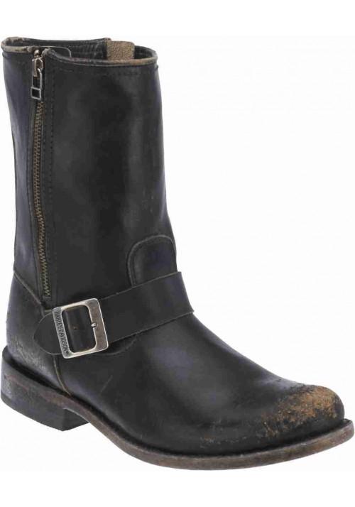 Harley Davidson boots Abordale Black Label leather (Ref : D99904) Men's