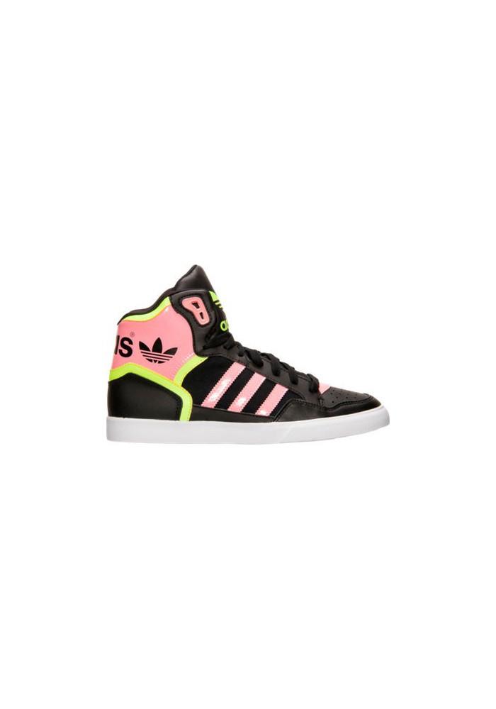 adidas donne scarpe extaball b35352 blk nero / zuccherino / solare gialla