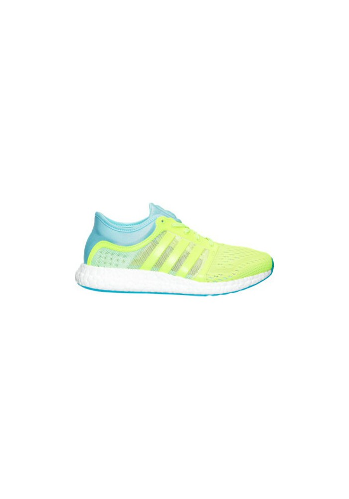 Adidas Womens Shoes CC Rocket Boost Running S77485-YEL Solar Yellow/Frozen  Blue