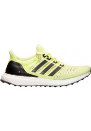 Adidas Trainers Ladies Ultra Boost Running S77512-YEL Frozen Yellow/Midnight Indigo