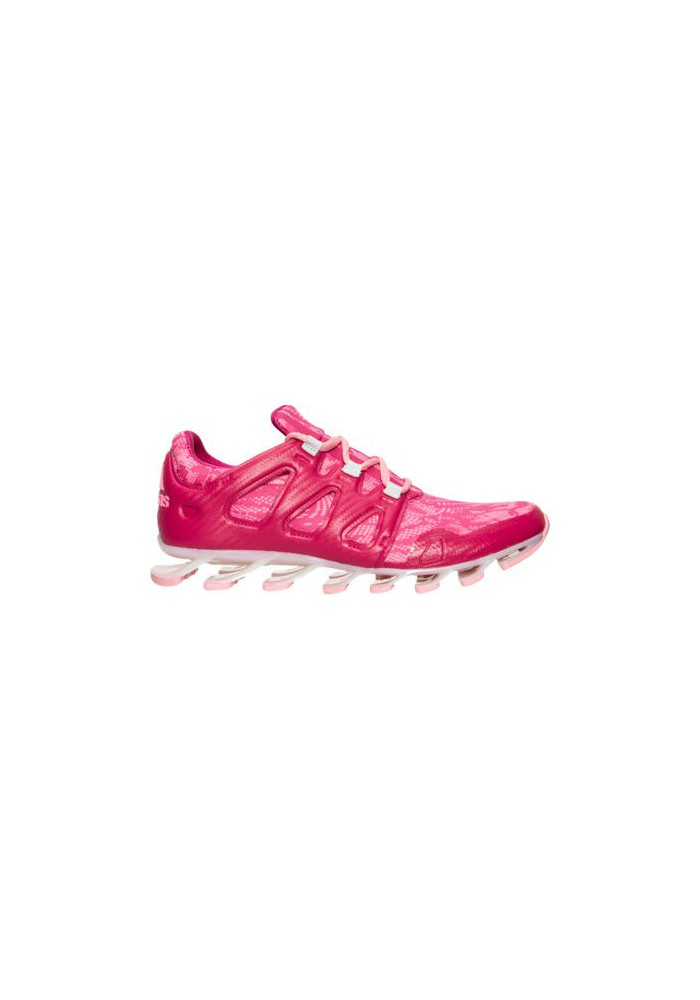 low priced 593a4 5a73d Adidas Trainers Ladies Springblade Pro Running Q16423-PNK Super Pop Bold  Pink Grey