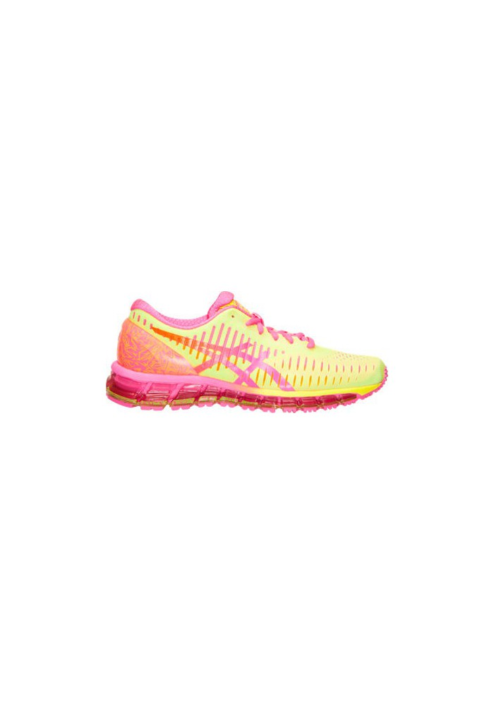 official photos 7f634 8c532 Womens Running Shoes Asics GEL Quantum 360 T5J6Q-073 Flash Yellow Hot Pink