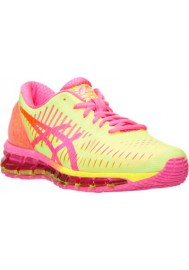 Womens Running Shoes Asics GEL Quantum 360 T5J6Q-073 Flash Yellow/Hot Pink