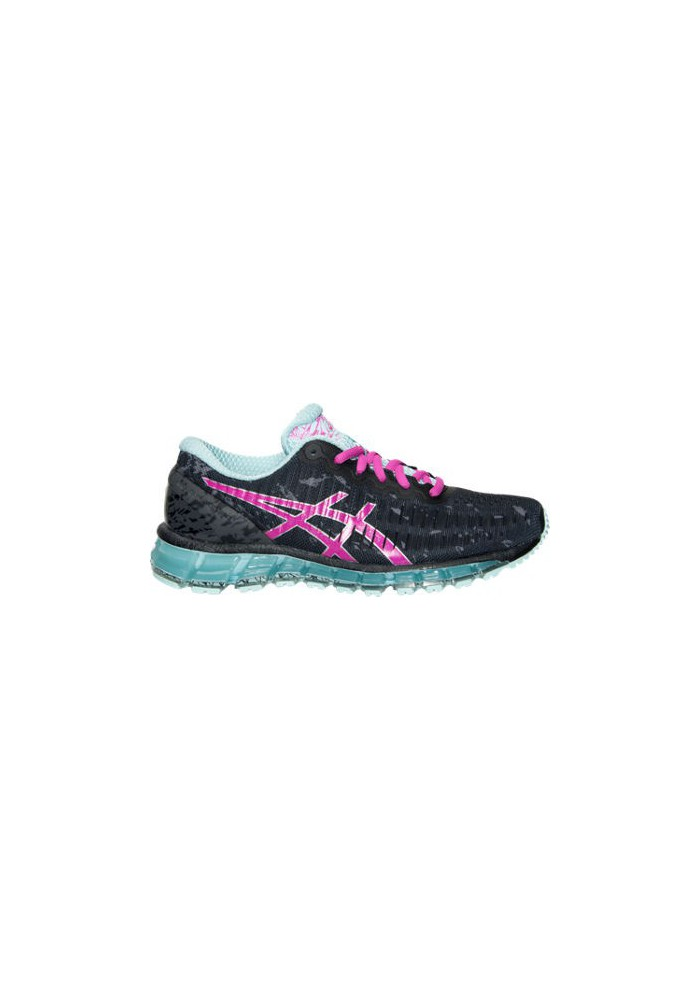 new concept 786a2 f9f89 Womens Running Shoes Asics GEL Quantum 360 T5J6Q-903 Black Pink  Glo Clearwater