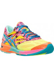 Womens Running Shoes Asics GEL Noosa Tri 10 T580N-073 Flash Yellow/Turquoise/Flash Pink