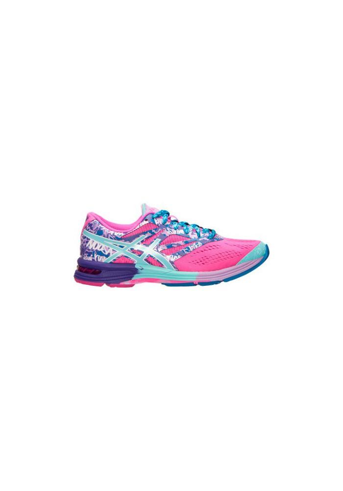 Womens Running Shoes Asics GEL Noosa Tri 10 T580N-356 Pink Glow/Aqua Splash/Fuchsia