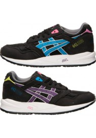 Womens Running Shoes Asics GEL Saga H5M7N-904 Black/Blue Aster