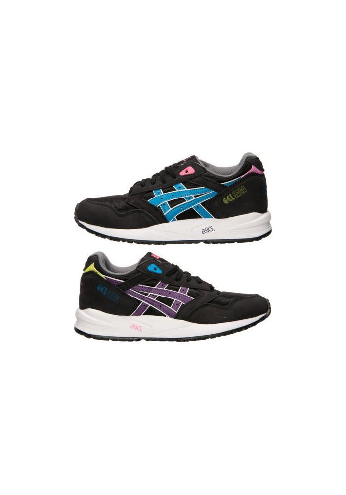 Womens Running Shoes Asics GEL Saga H5M7N-904 Black/Blue Aster