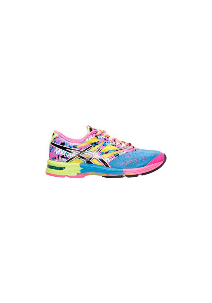 23bbb398614 Womens Running Shoes Asics GEL Noosa Tri 10 T580N-479 Powder Blue Black Hot  Pink