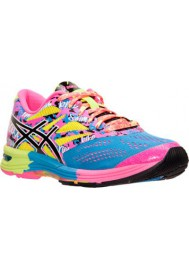 Womens Running Shoes Asics GEL Noosa Tri 10 T580N-479 Powder Blue/Black/Hot Pink