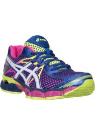 Womens Running Shoes Asics GEL Flux T568Q-330 Blue/White/Flash Yellow