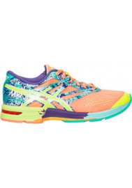 Womens Running Shoes Asics GEL Noosa Tri 10 T580N-230 Flash Coral/Flash Yellow/Ice Blue