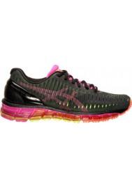 Womens Running Shoes Asics GEL Quantum 360 T5J6N-909 Black/Silver/Flash Yellow
