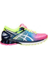 Womens Trainers Asics GEL Kinsei 6 T694N-340 Hot Pink/White/Flash Yellow