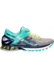 Womens Trainers Asics GEL Kinsei 6 T692N-139 Gradient Grey/Turquoise/Yellow