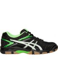 Womens Trainers Asics GEL 1150V Volleyball B457Y-005 Black/Neon Green