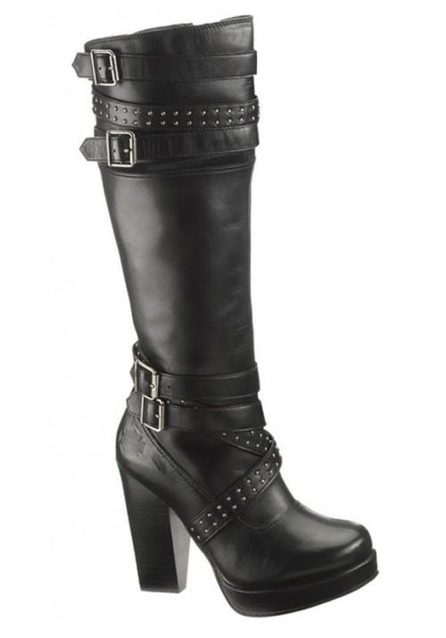 Boots - Harley Davidson - Karlia D83546 Black - Women