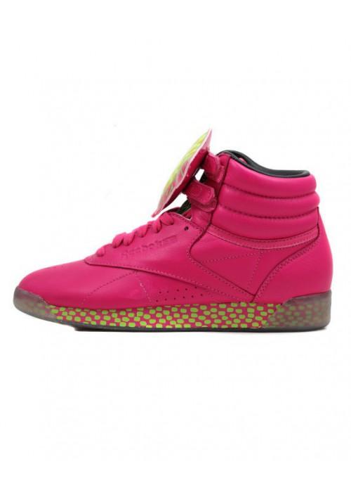 Reebok Freestyle Hi Int KH Pink V53701 Women Fitness