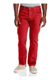 Levi's 501 Original Button Fly Jeans Jester Red 501-1584 Men