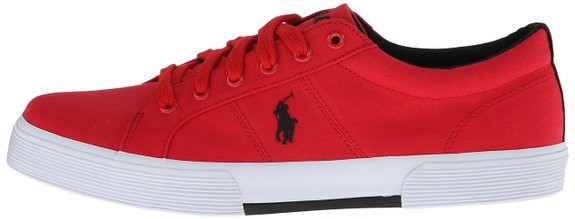 Chaussure Polo Ralph Lauren Rouge