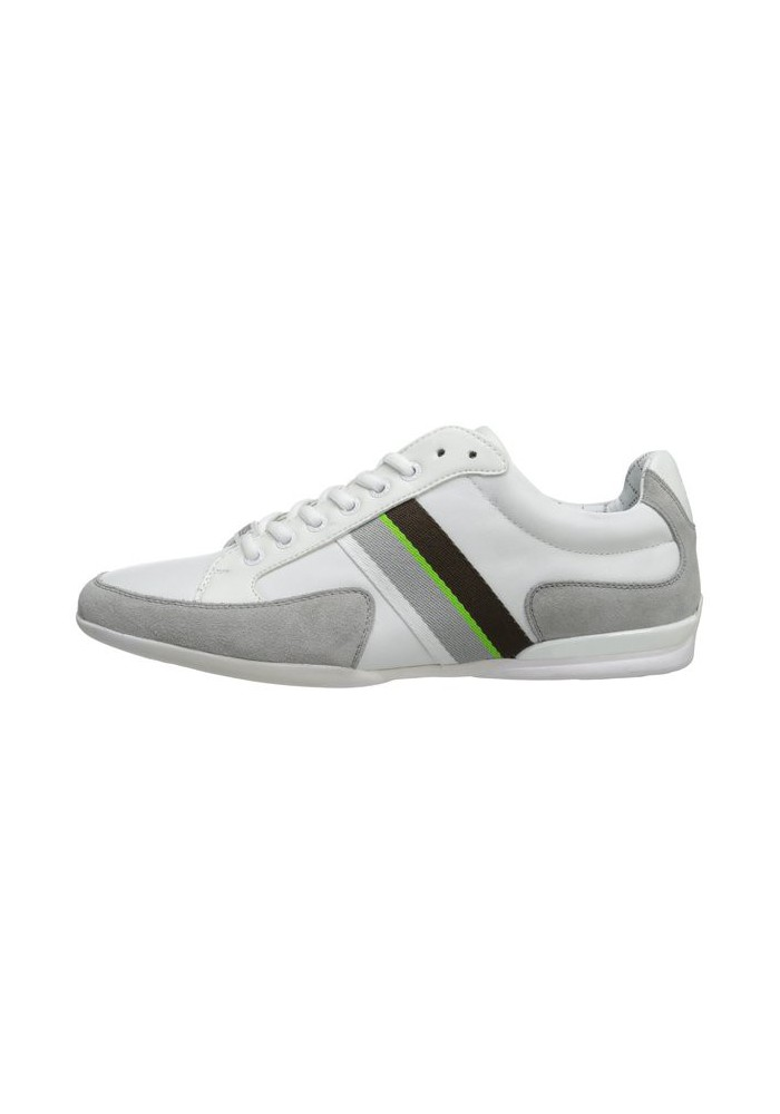 Shoes Hugo Boss Green - Space Leather