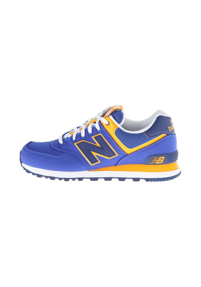 new balance ml 574 blue yellow