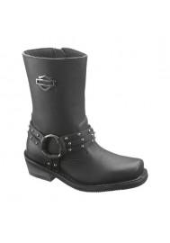 Harley Davidson Boots / Rosa Black (Ref : D87019) Women