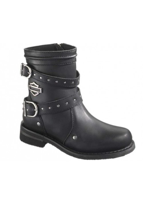 Harley Davidson Boots / Chryse Black (Ref : D87011) Women