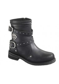 Harley Davidson Boots / Chryse Black (Ref : D87011) Women