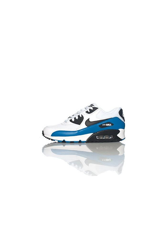 Nike Air 90 Essential White Leather (Ref   537384-114) Shoes Men 395d483b3e66