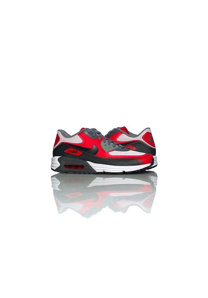 Nike Air Max 90 Lunar C 3.0 Red (Ref : 631744 101) Shoes Men