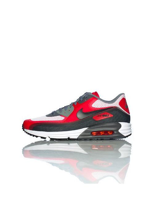 pretty nice 1c345 48848 Nike Air Max 90 Lunar C 3.0 Red (Ref   631744-101) Shoes Men