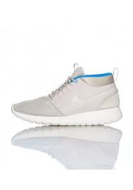 Men Nike Rosherun Mid White (Ref : 599501-004) Running