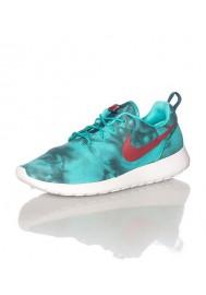 Men Nike Rosherun Print Vert (Ref: 655206-346) Running