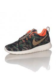 Men Nike Rosherun Print Brown (Ref: 655206-203) Running