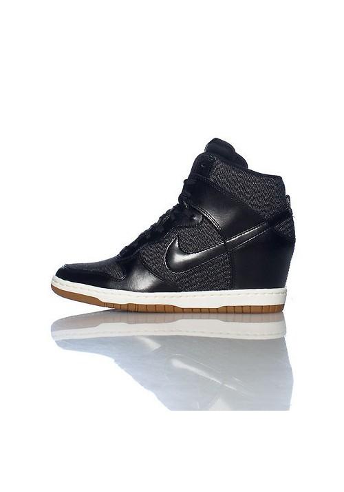 c302156c5c9 Haute Nike DUNK SKY HI ESSENTIAL WEDGE Black (Ref   644877-003) Women