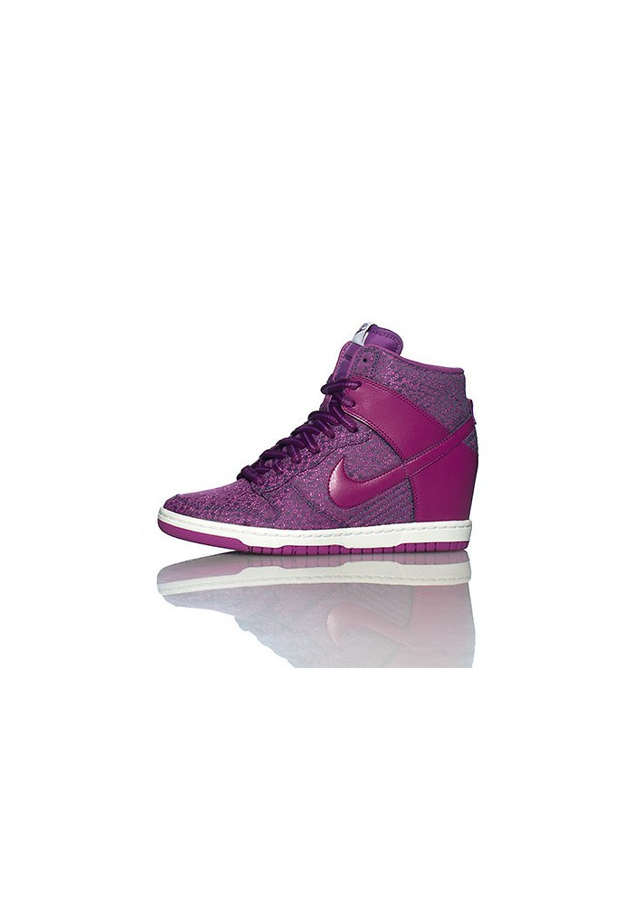 925f27a3290 Haute Nike DUNK SKY HI TXT WEDGE Purple (Ref   644410-400) Women