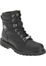 Harley Davidson Boots Austwell Leather Noir Motorcycle Men's – D94194