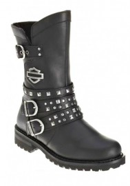 Harley Davidson Women Boots Adrian Motorcycle D87027