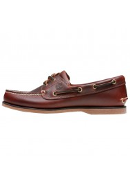 Shoes Timberland Classic 2-Eye Boat Brown Leather (Ref : 25077) Men's